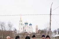 Посещение Высокопреосвященнейшим архиепископом Антонием храмов г. Болхова. 15 января 2012 г.