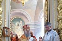 В День Победы архиепископ Антоний совершил литургию и поминовение воинов в Ахтырском кафедральном соборе. За литургией Владыка совершил хиротонию диакона Серафима Юрашевича во пресвитера. 9 мая 2012 г.
