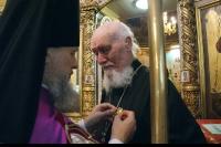 В праздник Рождества Иоанна Предтечи архиепископ Антоний совершил Божественную литургию в Иоанно-Крестительском храме. 7 июля 2012 г.
