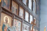 В праздник Казанской иконы Божией Матери архиепископ Антоний совершил литургию в Казанском храме Свято-Успенского монастыря. 4 ноября 2012 г.