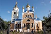 Чин великого освящения Вознесенского храма в поселке Змиевка. 24 мая 2012 г.