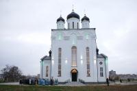 Чин великого освящения Казанского собора Свято-Успенского мужского монастыря г. Орла. 4 ноября 2011 г.