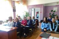 Мценские школьники прошли «Тропинками к святыням родного края»