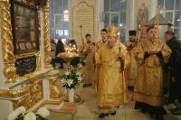 В канун Недели 27-й по Пятидесятнице митрополит Орловский и Болховский Антоний совершил всенощное бдение в Богоявленском соборе Орла. 1 декабря 2018 г.