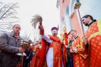 В день Радоницы митрополит Орловский и Болховский Антоний совершил литургию и пасхальное поминовение усопших в Воскресенском храме Орла. 17 апреля 2018 г.