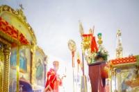 Во вторник Светлой Седмицы митрополит Орловский и Болховский Антоний в сослужении епископа Ливенского и Малоархангельского Нектария и епископа Мценского Алексия совершил литургию в Иверском храме Орла в честь его престольного праздника. 10 апреля 2018 г.