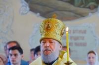 В канун Недели 5-й по Пятидесятнице митрополит Орловский и Болховский Антоний возглавил всенощное бдение в Богоявленском соборе Орла. 30 июня 2018 г.