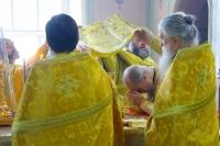 В Неделю 5-ю по Пятидесятнице митрополит Орловский и Болховский Антоний совершил Божественную литургию в Ахтырском кафедральном соборе Орла. 1 июля 2018 г.
