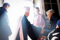 В Неделю 4-ю Великого поста, прп. Иоанна Лествичника, митрополит Орловский и Болховский Антоний возглавил Божественную литургию в Ахтырском кафедральном соборе Орла. 18 марта 2018 г.