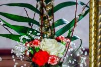 В праздник Входа Господня в Иерусалим (Неделю ваий), митрополит Орловский и Болховский Антоний совершил Божественную литургию в Богоявленском соборе Орла. 1 апреля 2018 г.