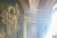 Митрополит Орловский и Болховский Антоний совершил в Великий Четверг в Ахтырском кафедральном соборе Орла Божественную литургию Святителя Василия Великого. 5 апреля 2018 г.