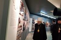 Делегация Орловской епархии посетила фотовыставки «Слово Патриарха. Время больших дел» в Храме Христа Спасителя. 27 января 2019 г.
