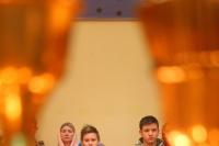 ВНеделю 28-ю поПятидесятнице, святых праотец, митрополит Орловский иБолховский Тихон совершил литургию вНикольском храме с.  Тельчье Мценского района. 29 декабря 2019 г.