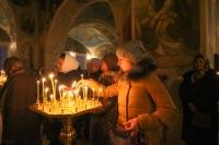 В канун праздника Крещения Господня митрополит Орловский и Болховский Тихон возглавил всенощное бдение в Богоявленском соборе города Орла. 18 января 2020 г.