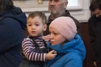 В годовщину архиерейской хиротонии митрополит Орловский и Болховский Тихон возглавил Божественную литургию в Ахтырском кафедральном соборе Орла. 23 января 2020 г.