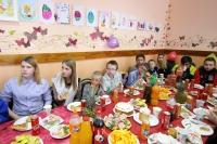 Митрополит Орловский и Болховский Тихон поздравил с Пасхой Христовой воспитанников социально-реабилитационного центра для несовершеннолетних в Орле. 30 апреля 2019 г.