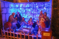 В канун Недели святых отец митрополит Орловский и Болховский Тихон возглавил всенощное бдение в Ахтырском кафедральном соборе Орла. 4 января 2019 г.