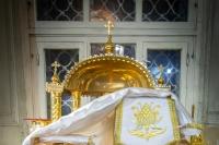 В ночь с 6 на 7 января 2020 года, в праздник Рождества Христова, митрополит Орловский и Болховский Тихон совершил в Ахтырском кафедральном соборе Орла праздничную Божественную литургию