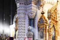 В одиннадцатую годовщину интронизации Святейшего Патриарха Кирилла в Храме Христа Спасителя совершена Божественная литургия. 1 февраля 2020 г.