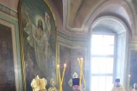 Высокопреосвященнейший митрополит Антоний, прослуживший на Орловской кафедре с 2011 по 2019 год, совершил в Ахтырском кафедральном соборе Орла прощальную Литургию и благословил каждого пришедшего в храм. 3 марта 2019 г.