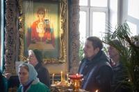 ВНеделю сыропустную (Прощеное воскресенье) митрополит Орловский и Болховский Тихон совершил литургию вНиколо-Песковском храме города Орла. 1 марта 2020 г.