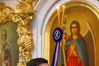 В Великий четверток Страстной Седмицы митрополит Орловский и Болховский Тихон в сослужении Алексия, епископа Кафского, викария Корсунской епархии, совершил Литургию в Богоявленском соборе Орла. 16 апреля 2020 г.