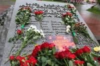 В 75-ю годовщину Победы в Великой Отечественной войне митрополит Орловский и Болховский Тихон возложил цветы к монументу героям-танкистам и братской могиле в Совете Танкистов города Орла, совершил литию. 9 мая 2020 г.