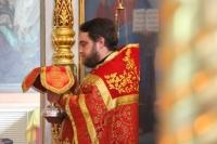 В Неделю 5-ю по Пасхе митрополит Орловский и Болховский Тихон совершил Литургию в Свято-Троицком храме Орла. 17 мая 2020 г.