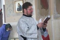В канун праздника Вознесения Господня митрополит Орловский и Болховский Тихон совершил всенощное бдение в Богоявленском соборе Орла. 27 мая 2020 г.