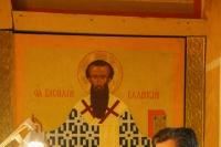 В канун Недели 1-й по Пятидесятнице, Всех святых, митрополит Орловский и Болховский Тихон совершил всенощное бдение в Троице-Васильевском храме Орла. 13 июня 2020 г.
