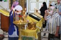 В канун дня памяти великомученика Пантелеимона митрополит Орловский и Болховский Тихон совершил всенощное бдение в Ахтырском кафедральном соборе Орла.  8 августа 2020 г.