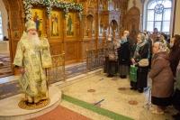В день празднования Иверской иконе Божией Матери митрополит Орловский и Болховский Тихон совершил Божественную литургию в Иверском храме города Орла. 26 октября 2020 г.