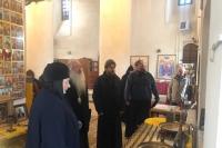 Митрополит Орловский и Болховский Тихон посетил Болховское благочиние с рабочей поездкой. 10 ноября 2020 г.