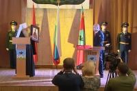 Митрополит Орловский и Болховский Тихон принял участие в церемонии вступления в должность мэра города Орла Юрия Парахина. 2 ноября 2020 г.