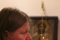В канун дня памяти великомученицы Варвары митрополит Орловский и Болховский Тихон совершил  всенощное бдение в Троице-Васильевском храме города Орла и освятил новые ризы на престол и жертвенник. 16 декабря 2020 г.