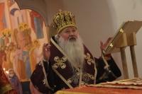 В день памяти Великомученицы Варвары митрополит Орловский и Болховский Тихон совершил  Божественную литургию в Троице-Васильевском храме Орла, где один из престолов освящен во имя святой. 17 декабря 2020 г.