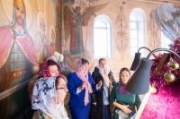 В Неделю 29-ю по Пятидесятнице, святых праотец, митрополит Орловский и Болховский Тихон совершил Литургию в храме святого Александра Невского в 909 квартале города Орла. 27 декабря 2020 г.