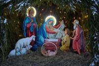 В канун Недели по Рождестве Христовом митрополит Орловский и Болховский Тихон совершил всенощное бдение в храме во имя св. Матроны Московской в Северном районе Орла. 9 января 2021 г.