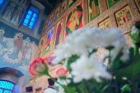 В Неделю 33-ю по Пятидесятнице митрополит Орловский и Болховский Тихон совершил Литургию в Свято-Троицком храме Мценска. За богослужением Архипастырь поздравил протоиерея Владимира Герченова с 30-летием иерейской хиротонии. 24 января 2021 г.