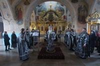 Вечером 4 апреля 2021 г. митрополит Орловский и Болховский Тихон совершил в Богоявленском соборе Орла второе в нынешнем Великом посту богослужение с чином Пассии