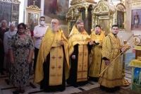 Митрополит Тихон совершил богослужение в Ахтырском соборе в канун Недели 8-й по Пятидесятнице 14 августа 2021 г.