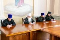 В Орловском епархиальном управлении под председательством митрополита Орловского и Болховского Тихона состоялось собрание благочинных. 30 августа 2021 г.