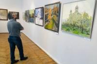 В Орле открылась выставка священника-живописца Алексия Комова. 30 июля 2021 г.