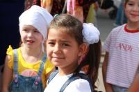 Орловская епархия организовала большой благотворительный праздник «Портфель первоклассника» для детей из многодетных семей в канун 1 сентября в Богоявленском соборе города Орла. 31 августа 2021 г.