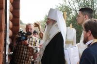 Митрополит Орловский и Болховский Тихон освятил храм и часовню в Шаблыкино. 12 сентября 2021 г.