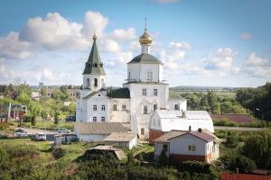 Храм Вознесения Господня бывшего Архангело-Вознесенского женского-девичьего монастыря, г. Мценск