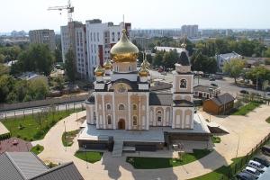 Храм Казанской иконы Божией Матери в микрорайоне «Наугорский» (строящийся)