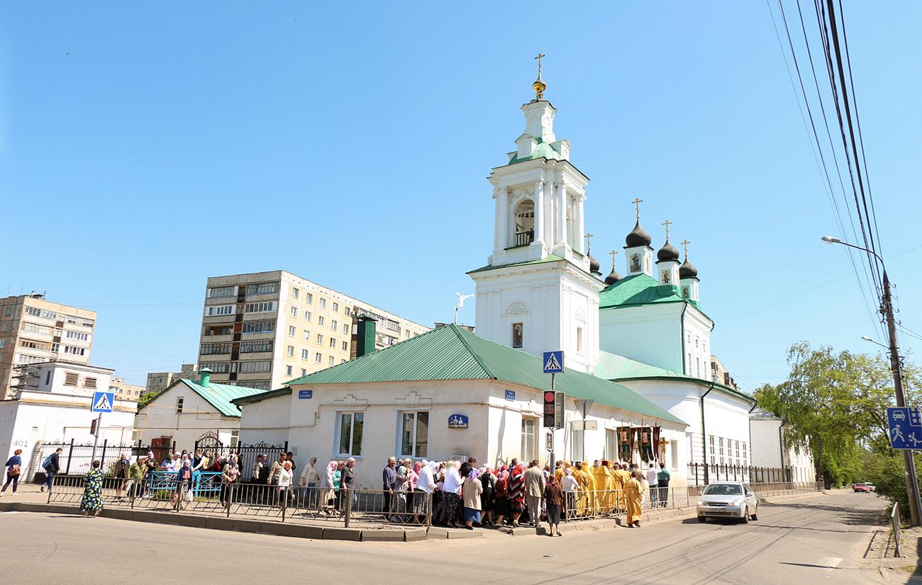 Николо-Песковский храм Орла
