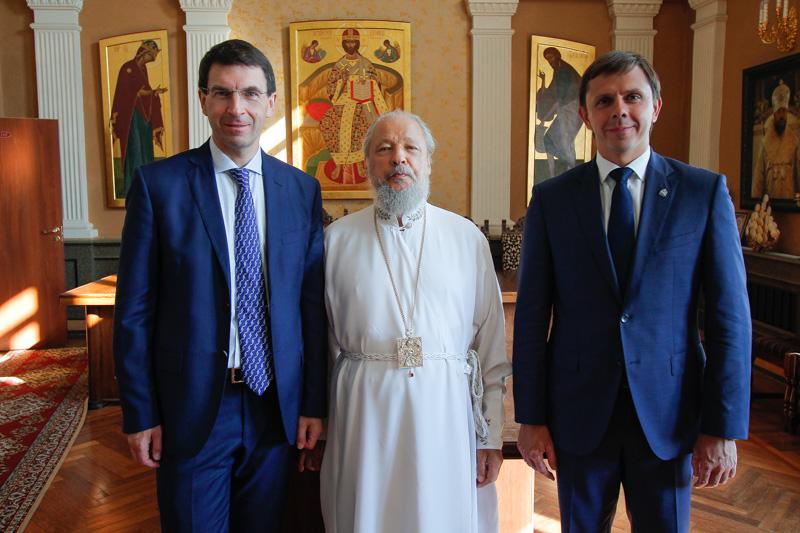 Состоялась встреча Управляющего Орловской митрополией с Полномочным представителем Президента в ЦФО