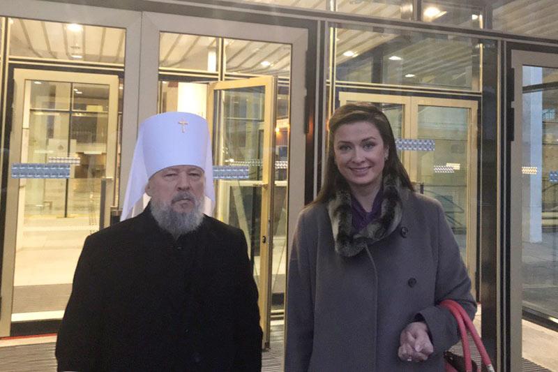 Управляющий Орловской митрополией принял участие в работе XXII Всемирного русского народного собора